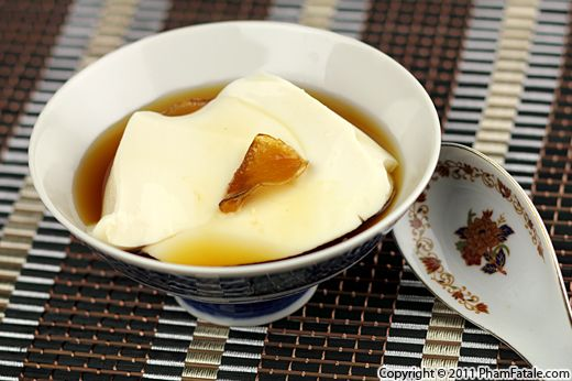 Tofu Dessert in Ginger Syrup (Tau Hu Nuoc Duong) Recipe