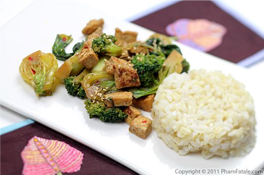 Vegetable Honey Tofu Stir-Fry Recipe Recipe