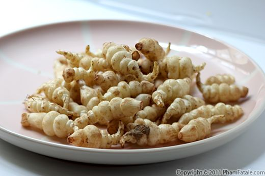 Crosnes Vegetable Recipe with Picture