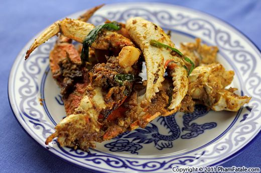 Cua Rang Muoi (Vietnamese Salted Crab Recipe) Recipe