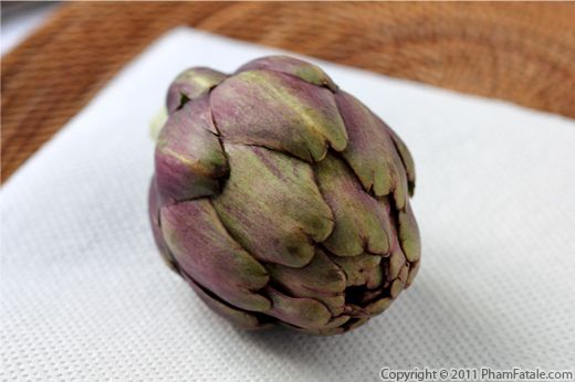 Purple Artichoke Recipe with Picture