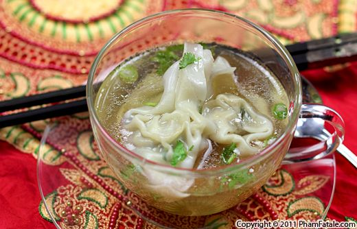 Vegetarian Wonton Soup Recipe Recipe