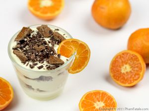 Clementine Chocolate Parfait Recipe
