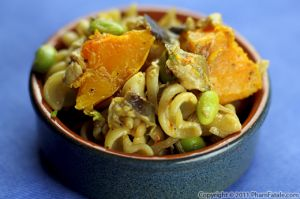 Fusilli Pasta with Roasted Butternut Squash