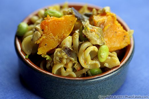 Fusilli Pasta with Roasted Butternut Squash Recipe
