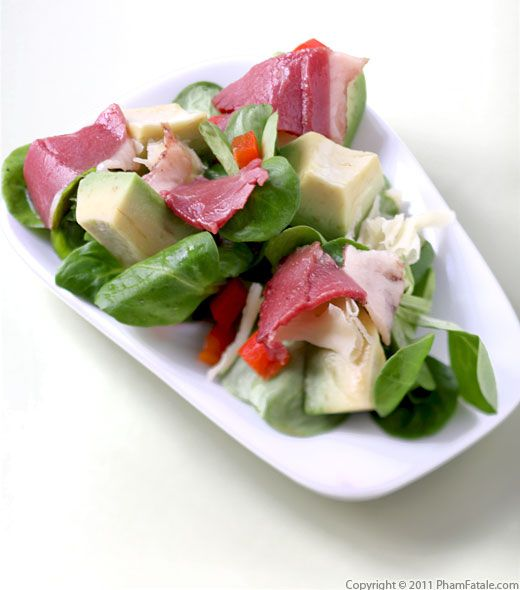 Duck Magret Salad Recipe Recipe