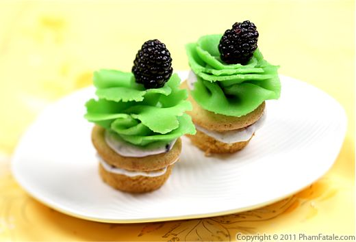 Blackberry Cupcake Recipe Recipe