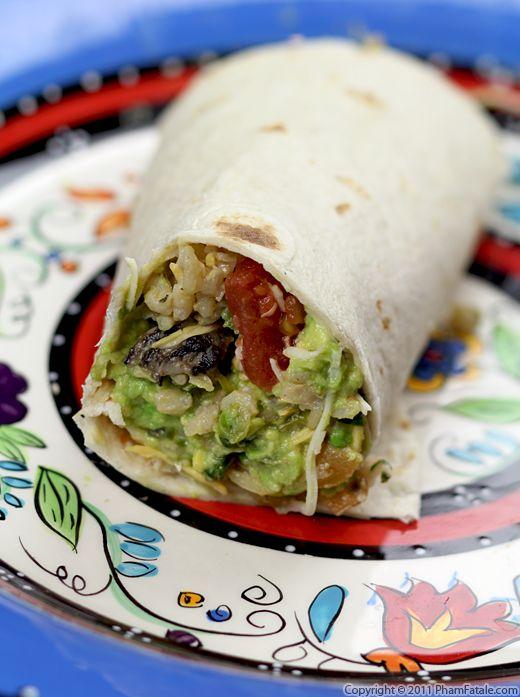 Vegetarian Burrito Recipe Recipe