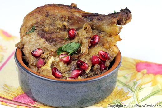 Pomegranate Chicken Recipe Recipe