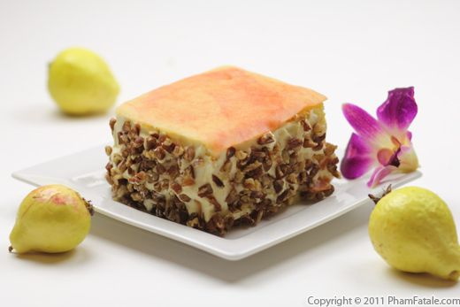 Guava Cake Recipe Recipe