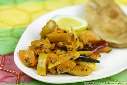 Indian Sabzi Recipe: Spicy Butternut Squash Recipe