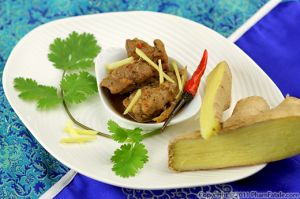 Ga Kho Gung Recipe (Vietnamese Ginger Chicken)