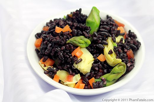 How to Cook Black Rice Recipe