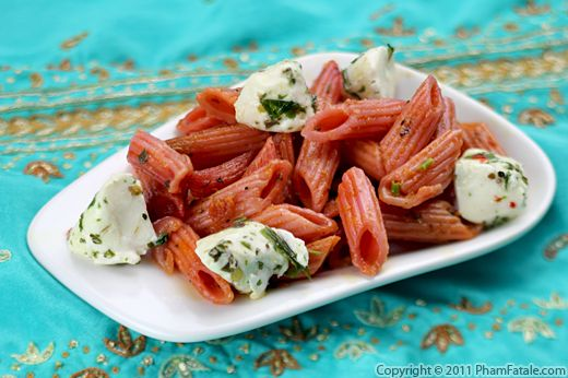 Beet Marinara Pasta Sauce with Mozzarella Recipe