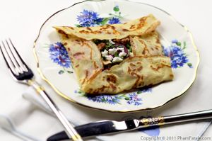 Beet and Goat Cheese Crepe Recipe