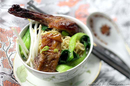 Duck Noodle Soup Recipe Recipe