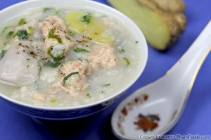 Canh Khoai Mo Recipe (Vietnamese Yam and Shrimp Soup)