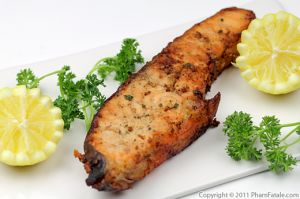 Pan-Seared Salmon with Lemon