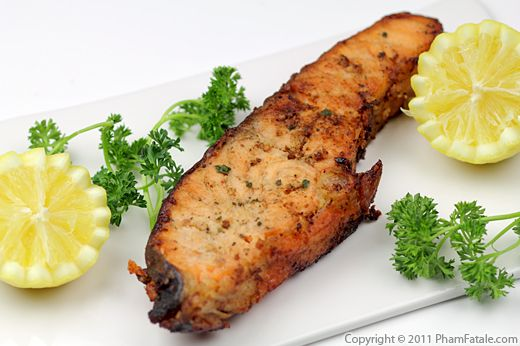 Pan-Seared Salmon with Lemon Recipe