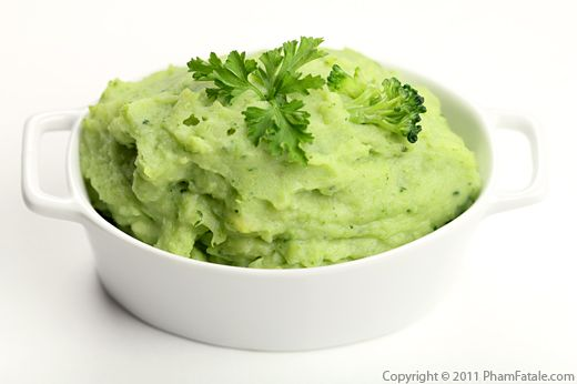 Broccoli Puree (Mashed Broccoli) Recipe