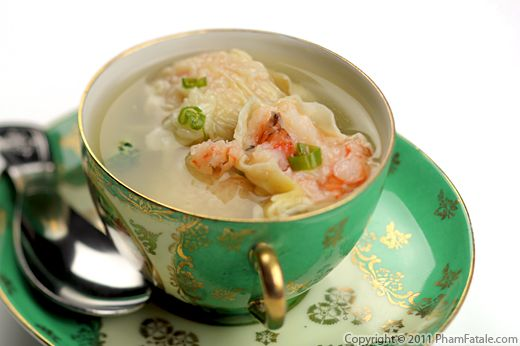 Shrimp Wonton Soup Recipe Recipe