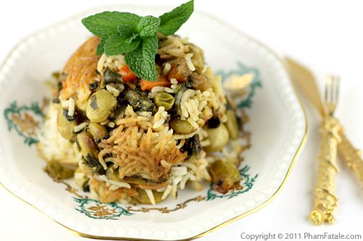 Pulao Recipe (Indian Vegetable Rice) Recipe