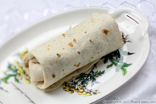 Chicken Burrito Recipe with Picture