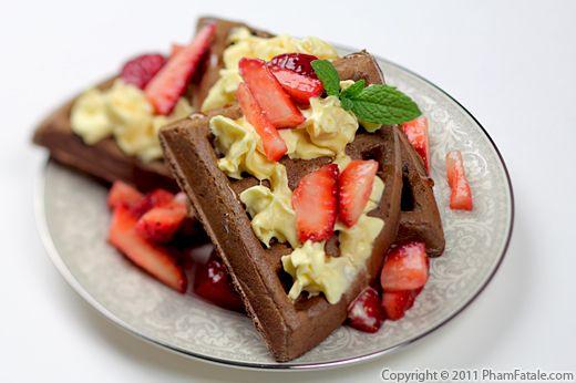 Chocolate Waffle Recipe Recipe