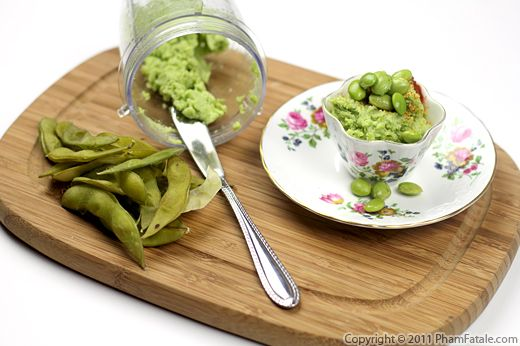 Edamame Hummus Recipe Recipe