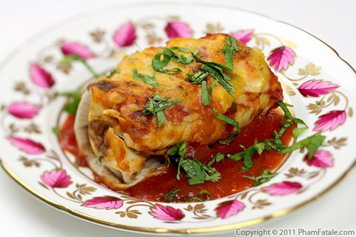 Enchilada Style Burrito Recipe Recipe