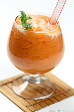 Papaya Smoothie Recipe (Sinh To Du Du)