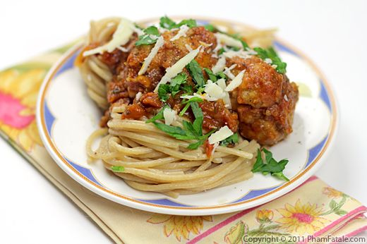 Spaghetti and Meatballs Recipe Recipe