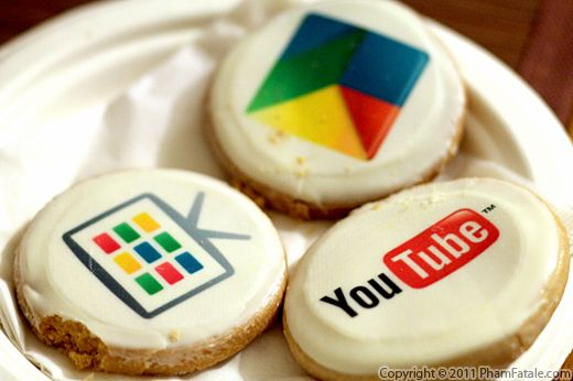 Google IO Conference Cookies Recipe