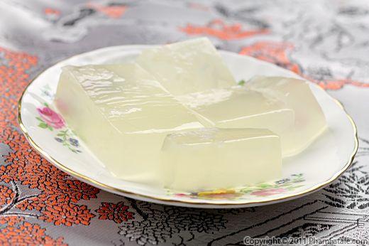 Rau Cau Dua: Vietnamese Coconut Jello Recipe Recipe