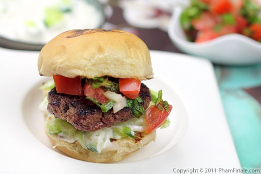 Indian Burger Recipe with Picture
