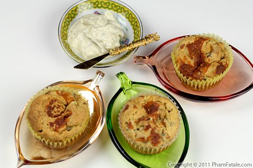 Savory Muffin Recipe: Mushroom Cream Cheese Muffins Recipe