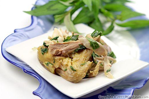Ga Muoi Ot: Vietnamese Chicken Salad Recipe Recipe