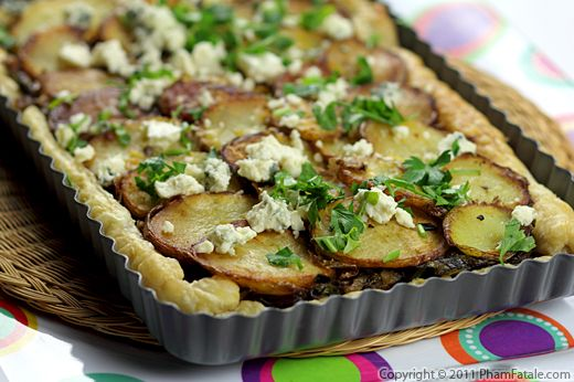 Potato Leek Pie Recipe Recipe