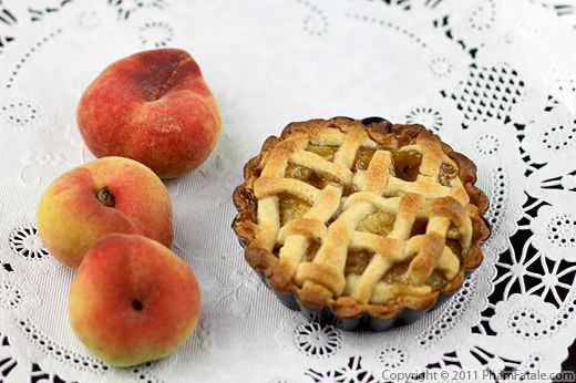 July 4th Dessert: Peach Pie Recipe (Lattice-Top Pie) Recipe