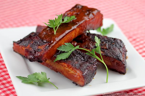 Slow Cooker Barbecue Ribs - Pham Fatale
