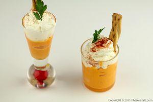 Cold Carrot Ginger Soup (Cappuccino De Carottes)