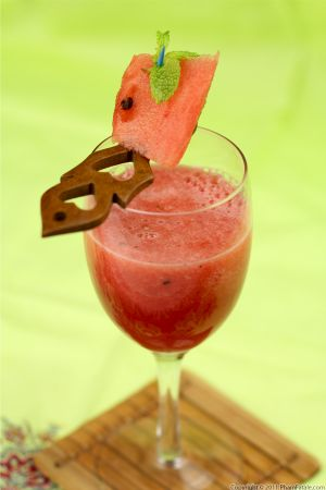 Watermelon Iced Tea Drink Recipe
