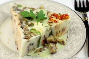 Terrine de Legumes (Vegetable Pate Recipe)