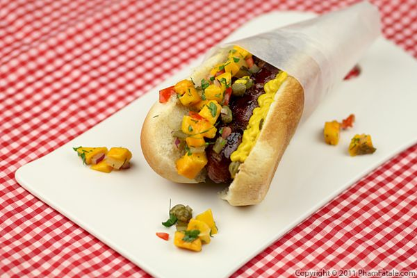 Sweet Mango Pickle Relish (Hot Dog Condiment) Recipe