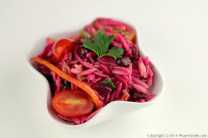 Beet Orzo Pasta Salad Recipe