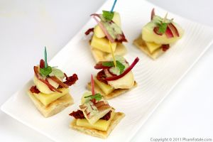 Peach Comte Cheese Appetizer Recipe