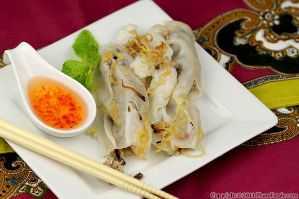 Banh Cuon Recipe (Steamed Rice Rolls) Recipe