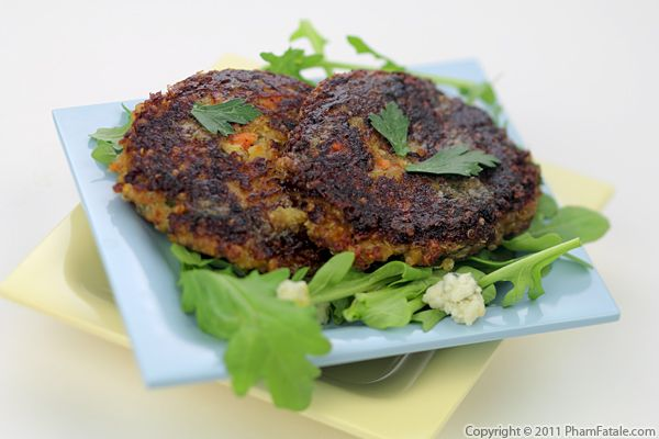 Quinoa Patties (Galette de Quinoa Recipe) Recipe