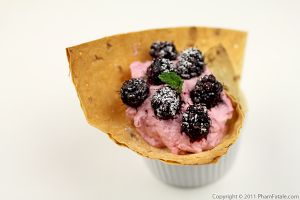 Mulberry Dessert (Fruit Dessert Cup Recipe)
