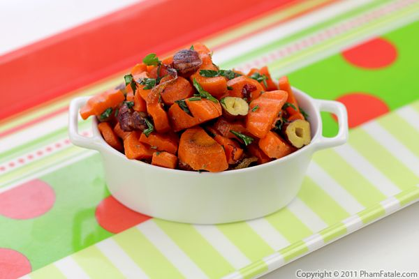 Brown Butter Glazed Carrots with Toasted Hazelnuts Recipe